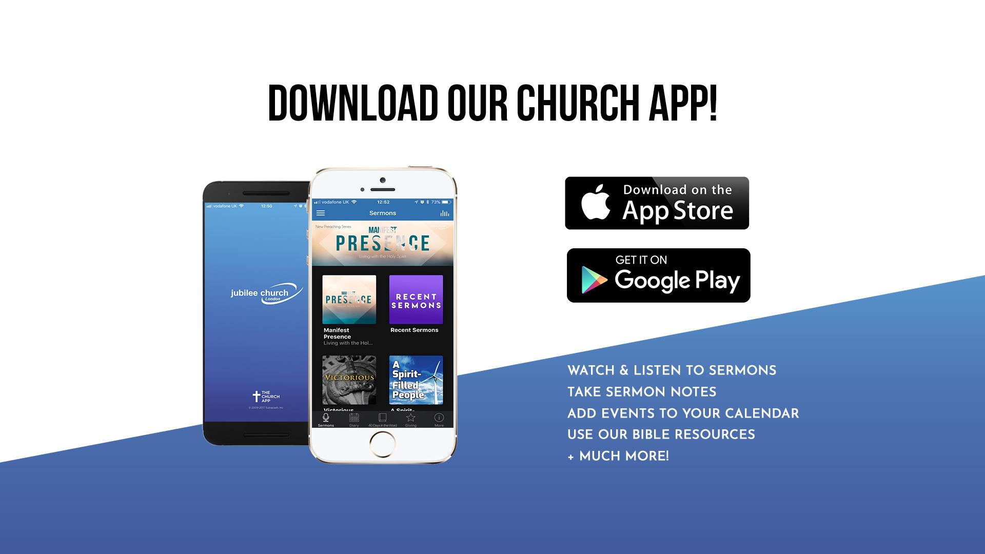 Jubilee Church App