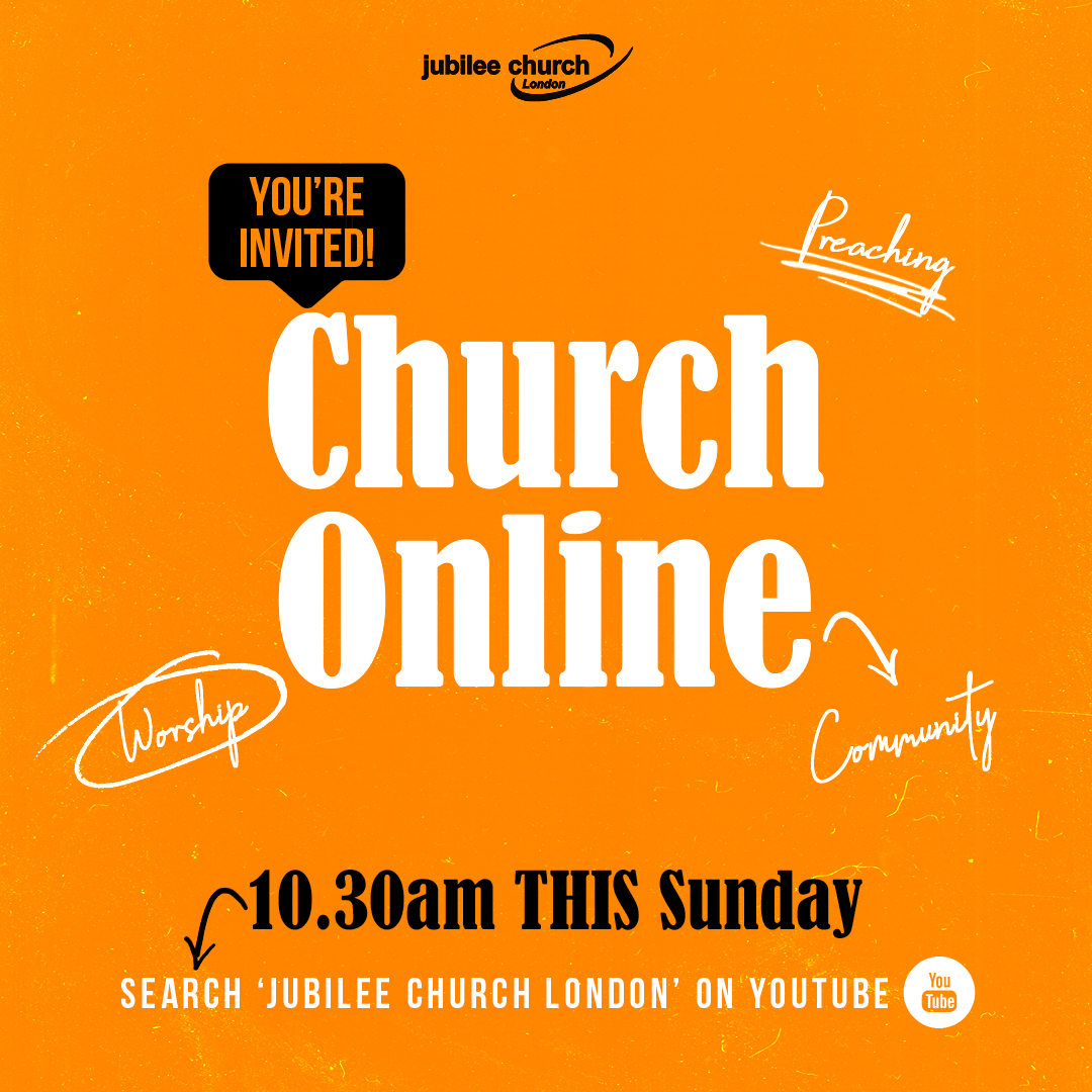 You're Invited To Jubilee Church Online