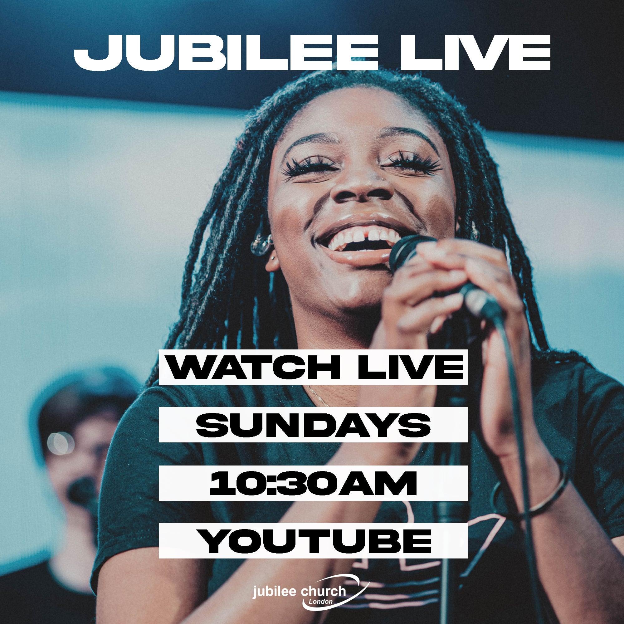 Invitation to Jubilee Church London