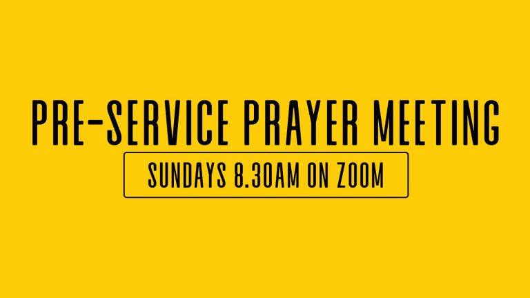 pre-service prayer meeting