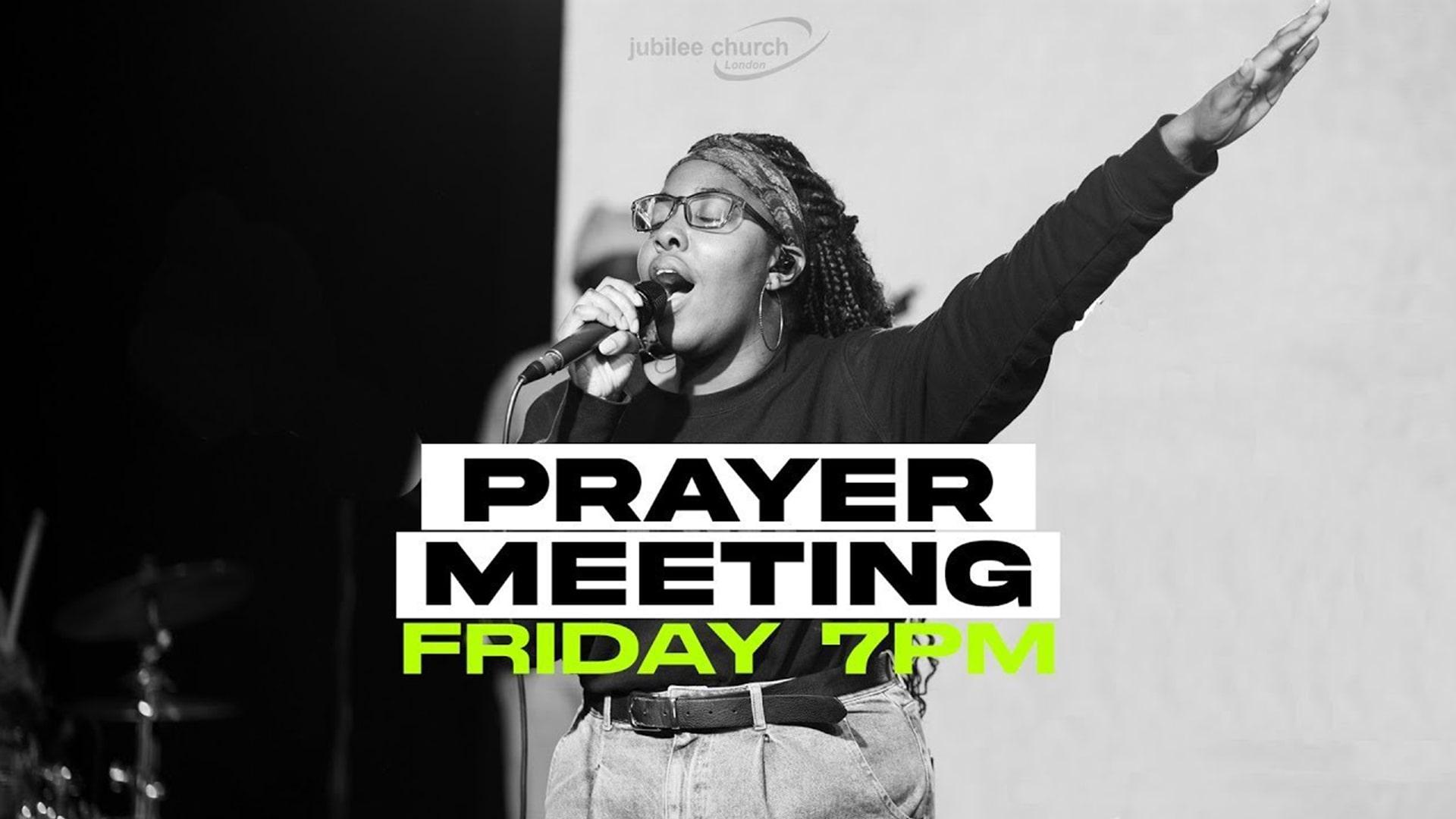 Friday prayer meeting